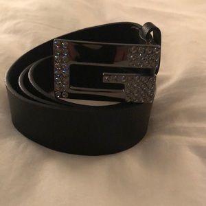 Guess bling belt